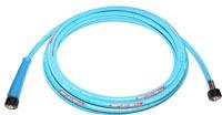 Flexible lavage équipé ISOFLEX-LINE® PLUS bleu