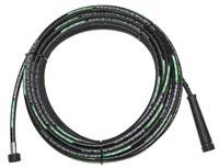 Flexible lavage équipé ISOFLEX-LINE® X-TRA noir