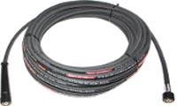 Flexible lavage équipé ISOFLEX-LINE® PLUS noir