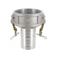 Coupleur à douille annelée et hélicoïdale pour récupération de vapeur