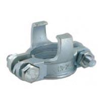 Collier de serrage 2 boulons - norme DIN 20039 - Acier