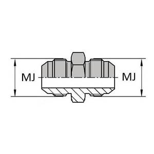 Série jic - Cône 74° (SAE J514)